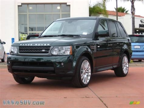 metallic land rover 2011 land rover range rover sport hse lux in galway green