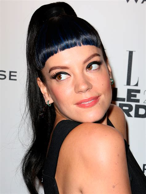 super short fringe lily allen s epic hairstyle file