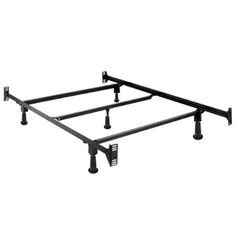Full Size High Rise Metal Bed Frame W Headboard High Rise Metal Bed Frame