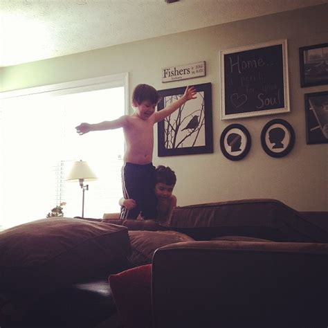 couch jumping unconventional winter break activities for kids