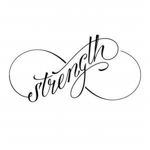 Strength Infinity Designs That Strength And Courage Onehowto