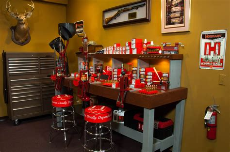 shotgun reloading bench gun room