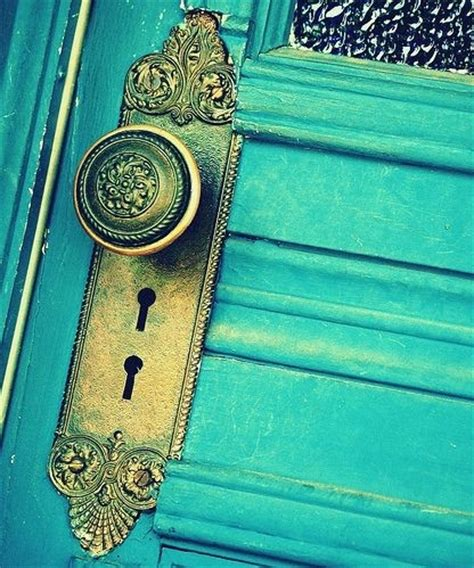 Door Knob Colors Blue Color Door Door Knob Interior Design Key Image