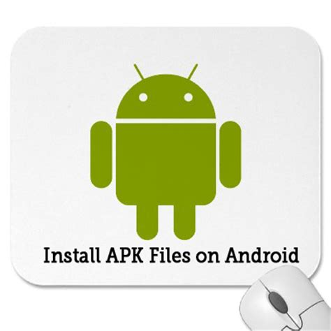 how to install apk files on android