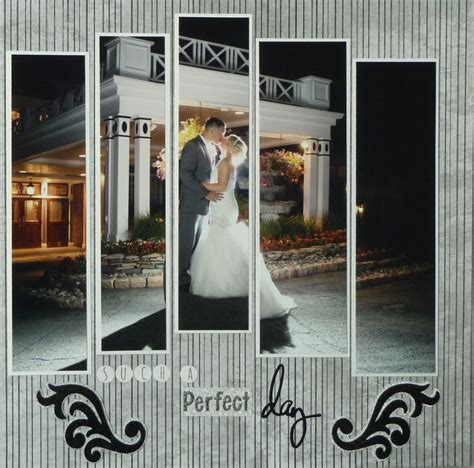 Wedding Scrapbook Layouts Ideas by Wedding Scrapbook Ideas Black And White Www Pixshark