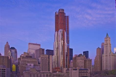 in progress beekman tower frank gehry archdaily