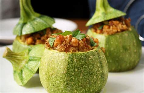 ricette di cucina zucchine farcite alla quinoa parliamo di cucina