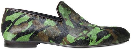 jimmy choo camo loafer jimmy choo camouflage print ponyskin loafers in multicolor