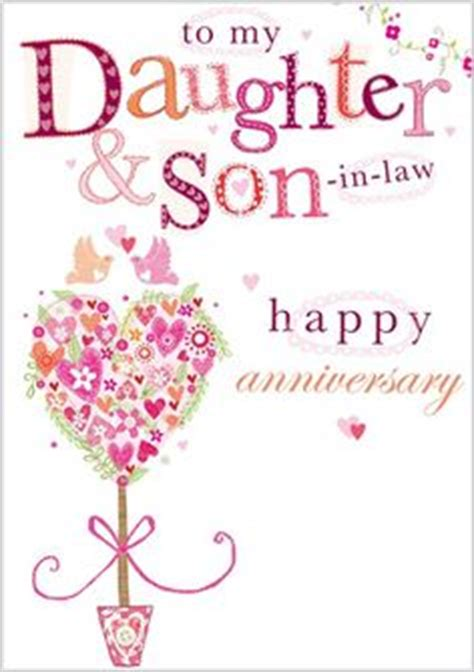 Free Printable Anniversary Cards For Son And Daughter In Law | happy anniversary to a special son and daughter in law