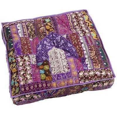 Floor Pillows Pier One by Sari Patch Floor Cushion Purple I Pier 1