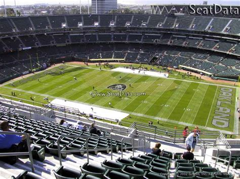 section 8 alameda county upper sideline oakland coliseum football seating