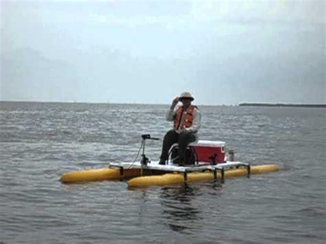 expandacraft boat expandacraft mack daddy fishing pontoon boat youtube