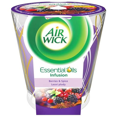 candela air wick air wick essential deco berries spice candela