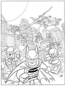 lego robin lego batman 2 coloring pages
