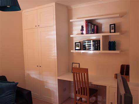 Wardrobe With Built In Desk by Fitted Wardrobes