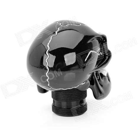 Cool Gear Shift Knob by Cool Skull Style Resin Car Gear Shift Knob Black White