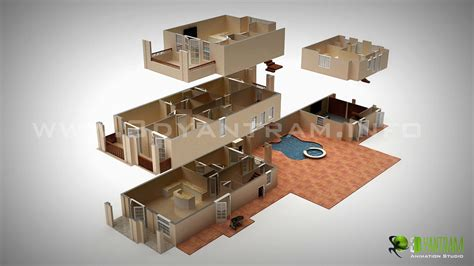 Luxurious Kitchen Designs by 3d Floor Plan Design Interactive 3d Floor Plan Yantram