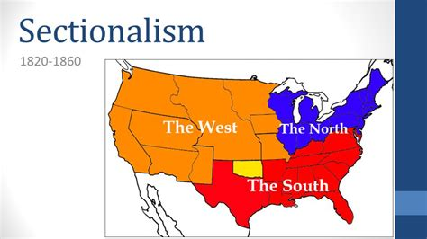 what is sectionalism sectionalism ppt download