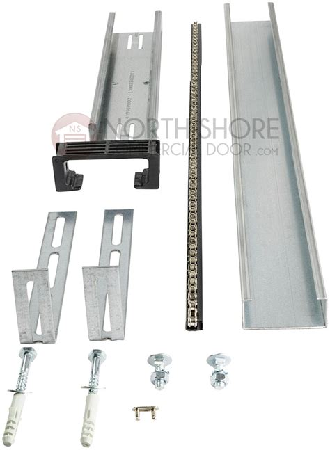 sommer garage door opener 3 ft rail extension kit 1634