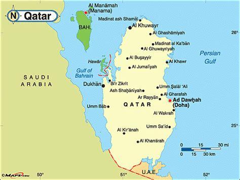 qatar uae map saudi u a e bahrain cut ties with qatar accuse