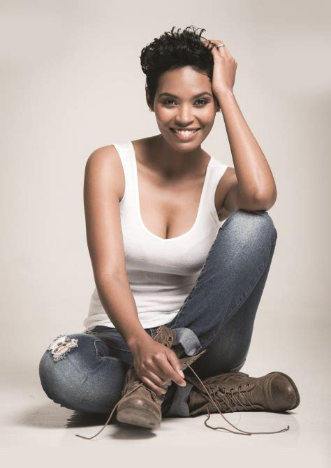 Zoey Bigsize gail mabalane the new brand ambassador for inecto