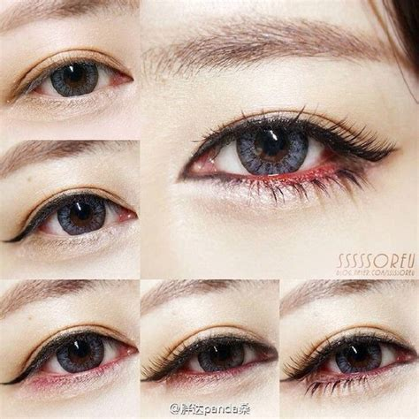 tutorial eyeshadow asian 509 best make up images on pinterest make up looks