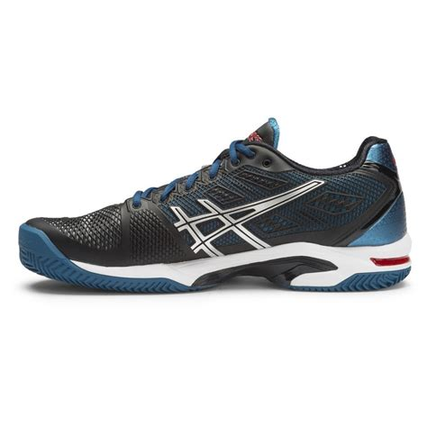 asics gel solution speed 2 clay mens tennis shoes onyx