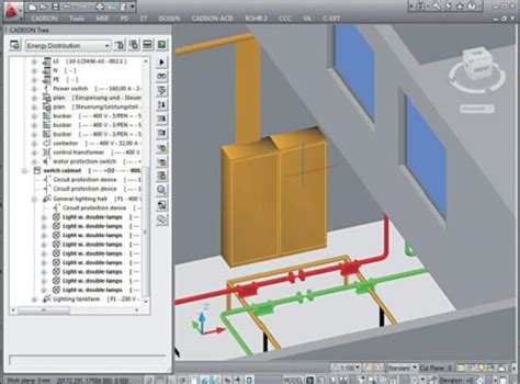 electrical panel layout design electrical software for plant engineering