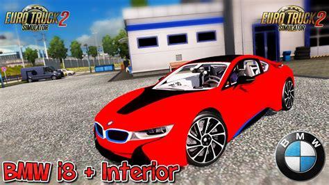 bmw interior mods bmw i8 interior v3 0 1 28 x car mod ets2 mod