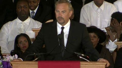 kevin costner s remarks at houston s funeral