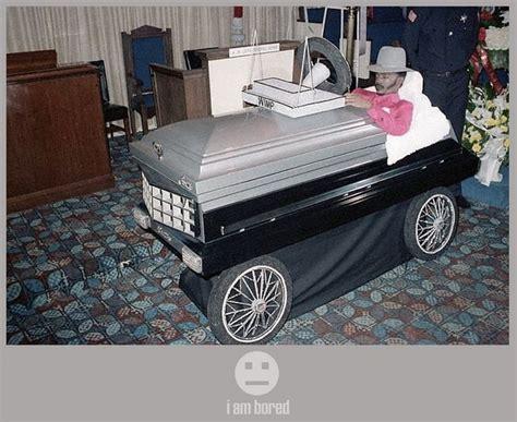 Maserati Rick Funeral by Pimp My Casket Pic