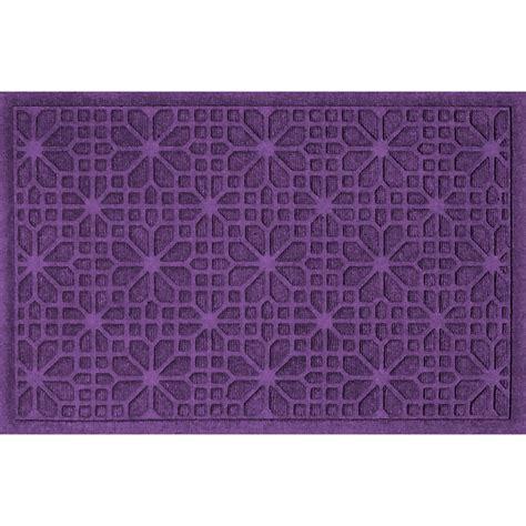 Purple Front Door Mat 2x3 Stained Glass Front Door Mat In Doormats