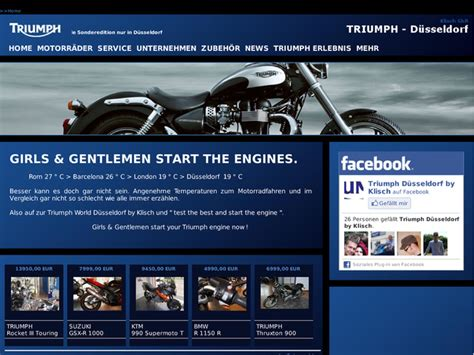 Triumph Motorrad Dusseldorf by Triumph World D 252 Sseldorf In D 252 Sseldorf Motorradh 228 Ndler