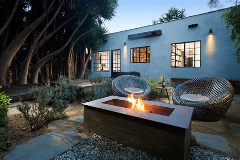 modern pit modern pits landscape midcentury with floor cushions