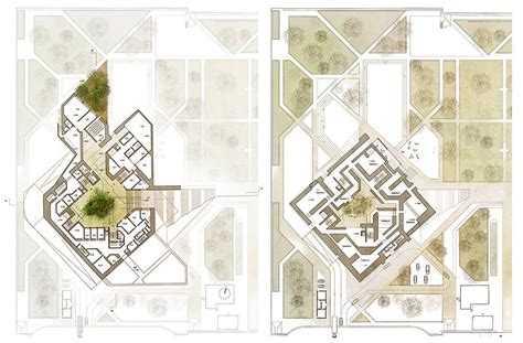 Open Plan House Plans gallery of national museum of afghanistan competition