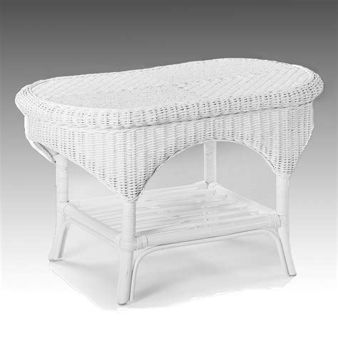 White Wicker Coffee Table Uk wicker coffee table white conservatory furniture