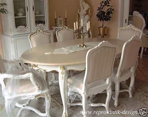 barockesszimmer stuhl tisch rokoko wei 223 louis xv barock - Louis Xv Stuhl