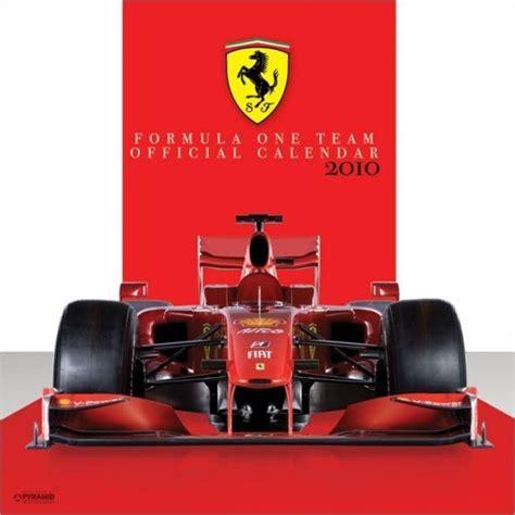 F1 Calendario 2018 Calendario 2018 Official Calendar 2010 F1