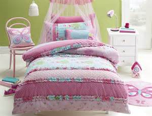 jiggle giggle vintage princess single bed quilt cover