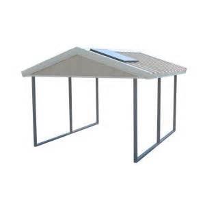 home depot carport pws premium canopy 10 ft x 12 ft ash grey and polar
