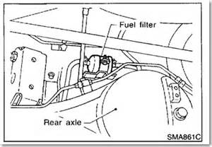 2002 Nissan Altima Fuel Filter Nissan Frontier Fuel Filter Location Images Frompo 1