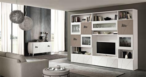 mobili mazza zona giorno moderna living system wall with zona giorno