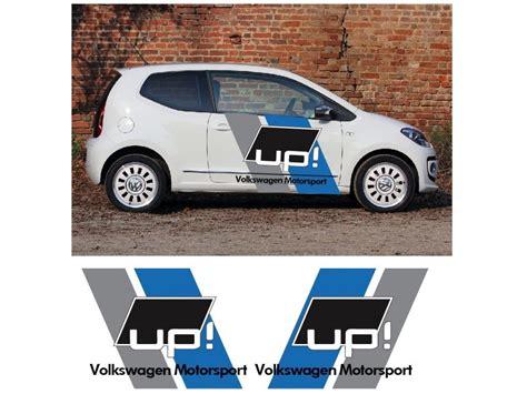 Vw Up Aufkleber by Aufkleber Passend F 252 R Vw Volkswagen Up Up Seitenaufkleber