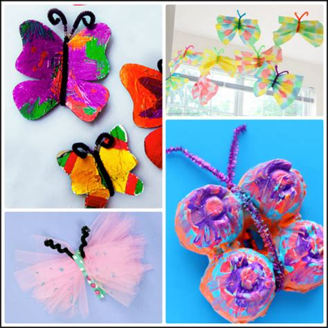 Beautiful Butterfly Crafts For To Make Crafty Morning