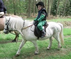 Daily Mail News Desk Contact by S Bid To Find Joshua S Stolen Pony Tic Toc