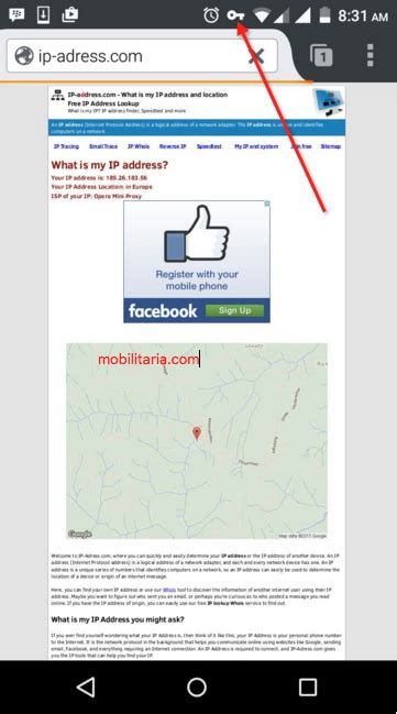 How To Lookup Your Ip Address How To Change Ip Address On Android Phone Mobilitaria