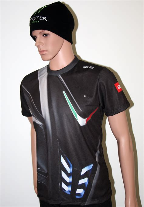 T Shirt T Shirt Aprilia aprilia t shirt with logo and all printed picture t