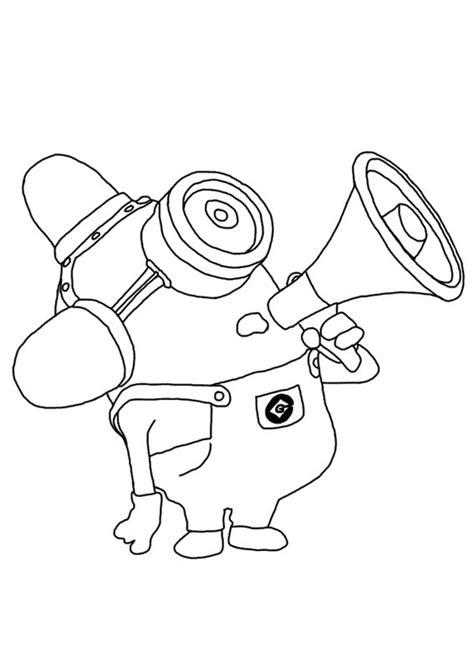 minion carl coloring page 30 disegni dei minions da colorare pianetabambini it