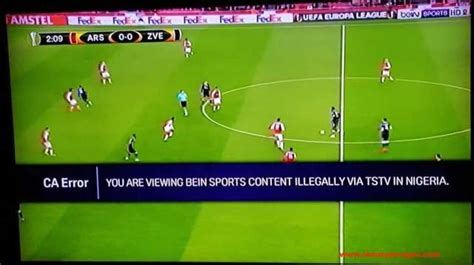 arsenal zve bein sports accuses tstv subscribers of viewing the
