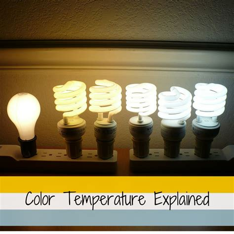 bathroom lighting color temperature color temperature explained 1000bulbs com blog